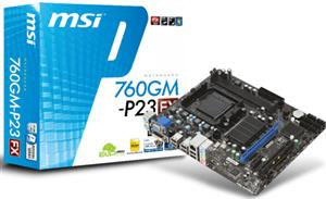 MSI 760GM-P23  FX AM3+ Motherboard